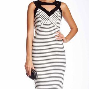 Take 50% off!!🌺 Striped Bodycon Dress